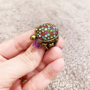 Lucky Brand 🍀 Turtle ring with secret compartment